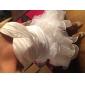 Sheath/Column Plus Sizes Wedding Dress - Ivory Court Train Sweetheart Taffeta/Organza