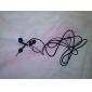 elegante căști de înaltă calitate, cablu de 1,2 m, 3,5 mm (alb)