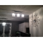 Linear Chandelier Island Light Crysal 3 Lights