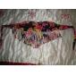 Femei Bikini Femei Bustieră Floral Franjuri Sutiene cu Bureți Nailon Polyester Spandex