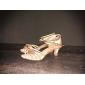 sol lisa latin salsa anpassnings kvinnors sandaler satin spänne dansskor (fler färger)