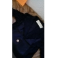 femei guler de dantelă croitor despicare cu maneci puf de blazer