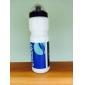 RIDELIFE Vit PVC Sport vattenflaska för cykling