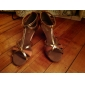 sol lisa latin salsa anpassnings kvinnors sandaler satin Paillette spänne dansskor (fler färger)
