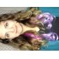 20 pouces long clip synthétique ondulé en extensions de cheveux avec 5 clips - 8 couleurs disponibles