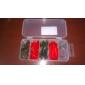 Leurre souple / Kits de leurre / leurres de pêche Kits de leurre / Leurre souple 16 pcs g Once mm / 2-5/8