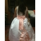 A-line/Princess/Ball Gown Floor-length Flower Girl Dress - Satin Sleeveless