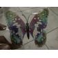 fosforescente-întuneric fluture autocolante 6buc acasă 3d fluture de perete cu pini&perdele magnet pentru decorare frigider