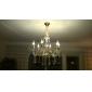 SUNWEIT Flush Mount 6 Lights Vintage i Crystal Feature