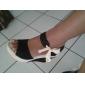 plate-forme de coin linge de talon sandales chaussures pour femmes (plus de couleurs)