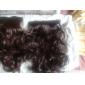 Hög temperaturtålighet 20 Inch Lång Wavy 5 Clip peruk Extension 4 färger