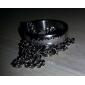 Moda Titanium Steel Cu Lord of Design laser Ring colier Gravura Ring