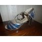 modificar los zapatos de danza cuero / calzado paillette superior para la mujer latina