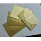Pliat Invitatii de nunta 50-Invitații Stil Oficial Stil Clasic Stil Mire & Mireasă Hârtie Perlă 6 ½
