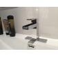 strö ® av lightinthebox - massiv mässing samtida vattenfall bathroom sink kran (krom)
