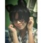 Perruques de Cosplay DuRaRaRa Izaya Orihara Noir Court Anime Perruques de Cosplay 30 CM Fibre résistante à la chaleur Masculin