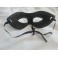 frais demi-masque en pvc masque unisexe de fête d'Halloween (couleur aléatoire)