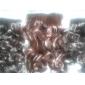 Haute résistance à la température de 20 pouces de long ondulé 5 clip postiche Extension 4 couleurs disponibles