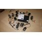 Liview® - utomhuskamera för dag och natt med åtta kanaler i fyra delar, full 960 H DVR, 600 TVLine