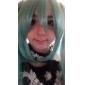 Cosplay Peruker Vocaloid Hatsune Miku Grön Extra lång Animé/ Videospel Cosplay Peruker 130 CM Värmebeständigt Fiber Kvinna