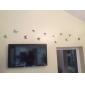 Djur Romantik 3D Väggklistermärken Väggstickers i 3D Dekrativa Väggstickers Klistermärken för kylskåp,Vinyl MaterialKan tas bort Kan