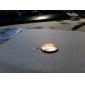 200st lysande stjärnor gyllene metall skiva nagel konst dekoration