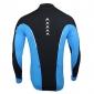 Arsuxeo Veste de Cyclisme Homme Manches longues Vélo Respirable Garder au chaud Doublure Polaire Maillot Hauts/Tops Polyester Toison