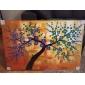 Peint à la main A fleurs/Botanique Trois Panneaux Toile Peinture à l'huile Hang-peint For Décoration d'intérieur