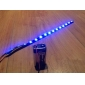 LED-Strips 30cm, röd / vit / Blue-Ray