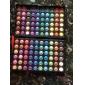 Matter & shimmernder Profi Lidschatten mit 120 Farben, 3in1 Kosmetik-Palette