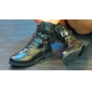 Women's Shoes  Low Heel Buckles Lace Up Front Ankle Combat Boots With Free Shoelaces
