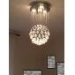 Chandelier Luxury Modern Crystal Bulb Included 4 Lights