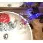 Contemporain Set de centre LED / Cascade / Avec spray démontable with  Valve en céramique Mitigeur un trou for  Chromé , Robinet lavabo