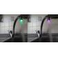 elegant vattenstråle färgrik lysande LED-ljus kran ljus (plast, förkromad)