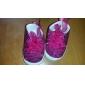 Syntetisk Flicka Flat Heel First Walkers Comfort Fashion Sneakers med snörskor