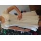 negru / alb / roz rochie sifon femei
