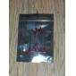 3mm feux rouges à diodes électroluminescentes LED (20 pièces par paquet)