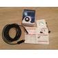 5m standard usb hd 480p endoskop boroskop orm 10mm lins 4 ledde IP67 vattentät inspektionskamera boroskop