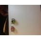 pietre superbe aliaj inel placat cu set de 2 (culoare aleatorii)
