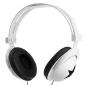 hörlurar 3.5mm över örat stereo volymkontroll för mediaspelare / tablett (blandade färger)