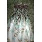 Femei Floral Print curea Maxi Dress