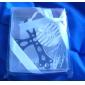cruz de plata con el favor de marcador borla