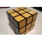 Mjuk hastighetskub 3*3*3 Magiska kuber Svart Blekna Plast