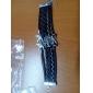 Eruner® Women's Multilayer Alloy Love Birds Life Tree and Infinity Handmade Leather Bracelet
