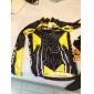 FJQXZ® Cykeltröja och tights Herr Lång ärm CykelAndningsfunktion / Snabb tork / Vindtät / Ultraviolet Resistant / Dragkedja fram / Bärbar
