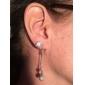 Aimei argent 925 glands de mode boucles d'oreilles en strass femmes