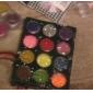 12-couleur Hexagone paillettes Nail Art Décorations