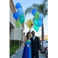 Prom / Formal Evening / Military Ball Dress - Plus Size / Petite A-line Strapless / Sweetheart Floor-length Chiffon