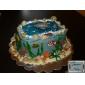 coacere Mold desen animat în formă tort pentru Cupcake pentru Pie Silicon ziua îndragostiților DIY Ziua Recunoștinței