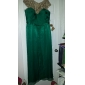 Formal Evening/Military Ball Dress - Jade Plus Sizes A-line Bateau Floor-length Chiffon